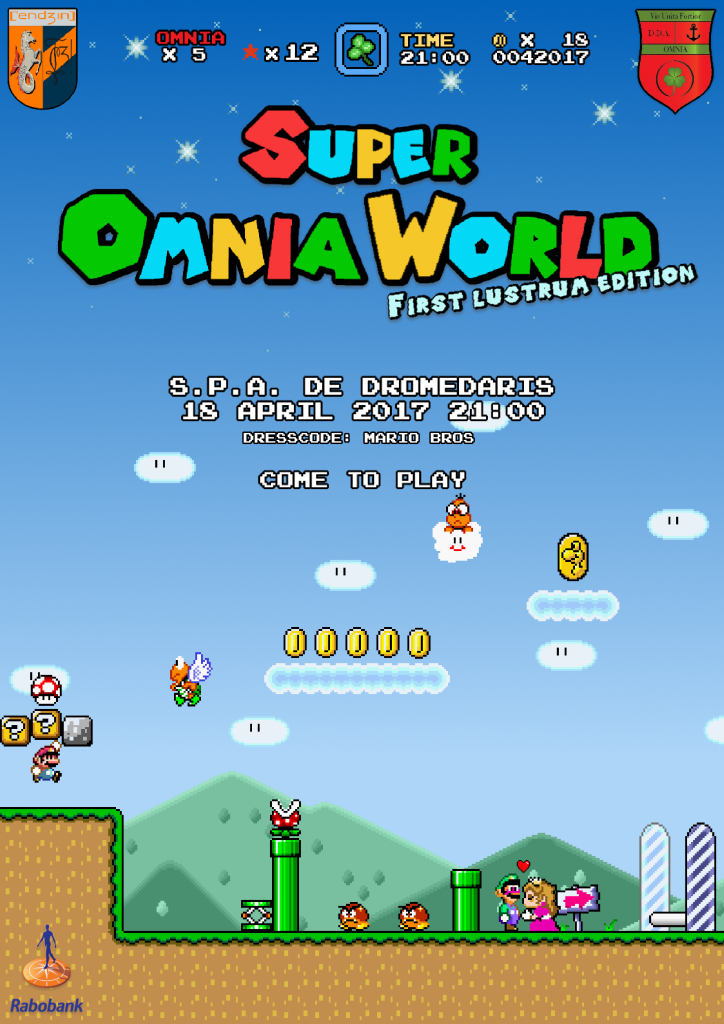 Super Omnia world – 1e lustrum D.D.A. Omnia